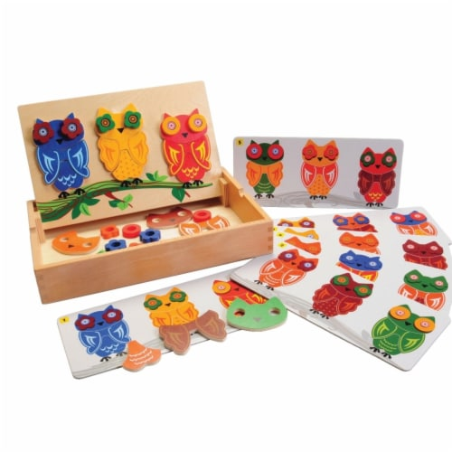 Marvel Education 1531961 Marvel Education Mix & Match Magnetic Owls Perspective: front