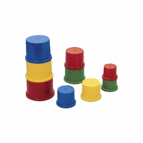 Marvel Education 1286857 Plastic Stacking Set Perspective: front
