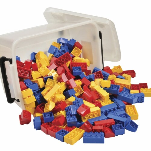 Marvel Education 1555935 Preschool-Size Building Bricks Set Perspective: front
