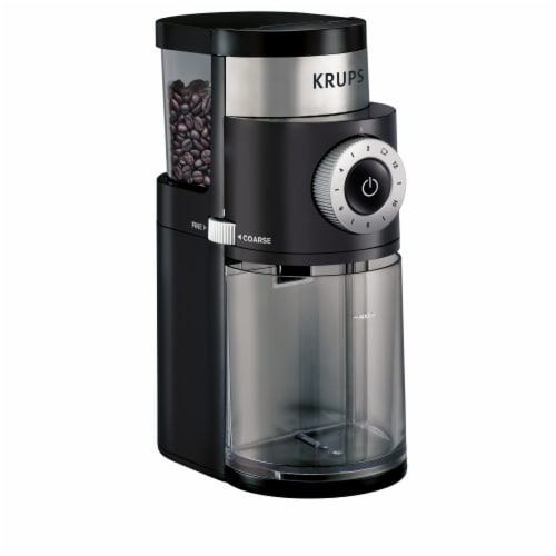 Krups GX550850 Precise Grind Coffee Grinder Perspective: front