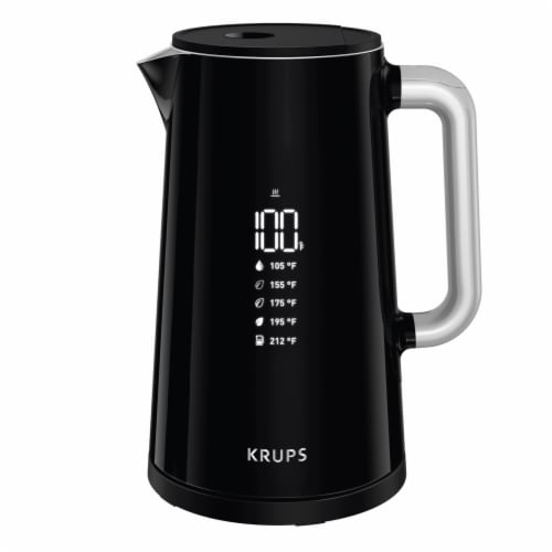 Krups Safe to Touch Digital Kettle Perspective: front
