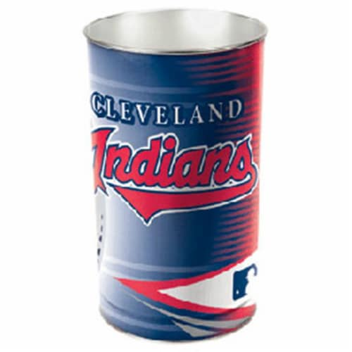 Cleveland Indians Wastebasket 15 Inch Perspective: front