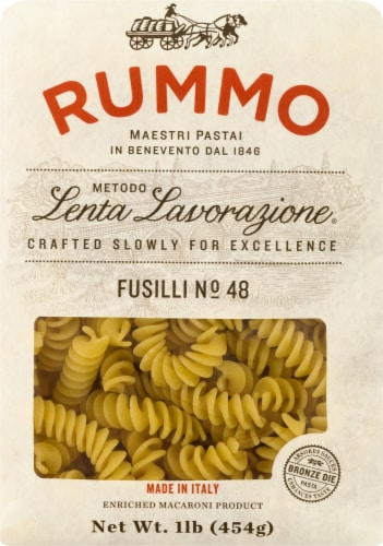 Rummo Fusilli Pasta Perspective: front