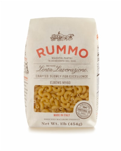 Rummo Elbows Pasta Perspective: front