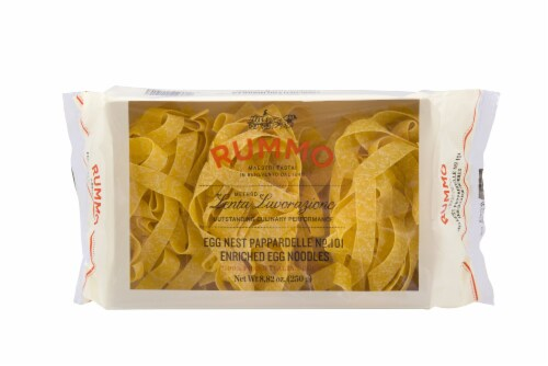 Rummo Egg Pappardelle Pasta Perspective: front