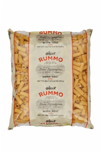 Rummo Rigatoni Pasta Perspective: front
