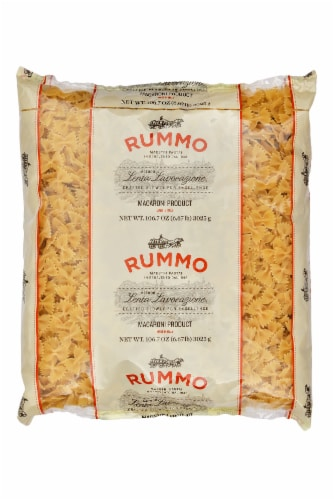 Rummo Farfalle Pasta Perspective: front