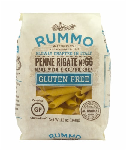 Rummo Gluten Free Penne Rigate Perspective: front