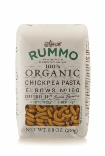 Rummo Organic Chickpea Elbows Perspective: front