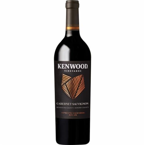 Kenwood Sonoma County Cabernet Sauvignon Perspective: front