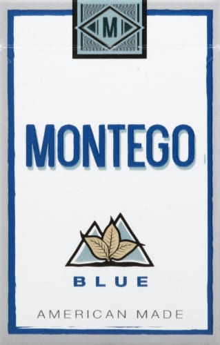 Montego Blue Kings Cigarettes Perspective: front