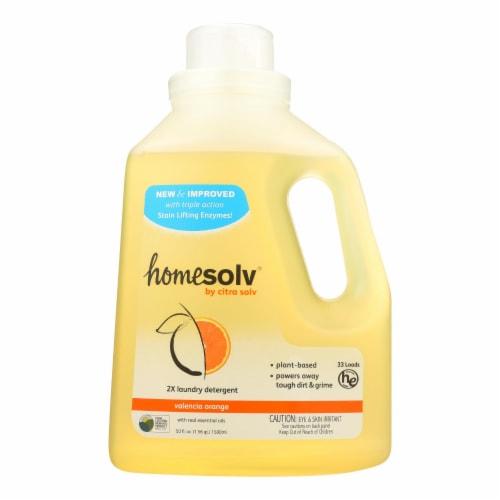 CitraSolv Citra Suds Liquid Laundry Detergent - Valencia Orange - Case of 6 - 50 oz Perspective: front