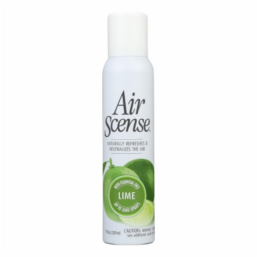 Air Scense - Air Freshener - Lime - Case of 4 - 7 oz Perspective: front