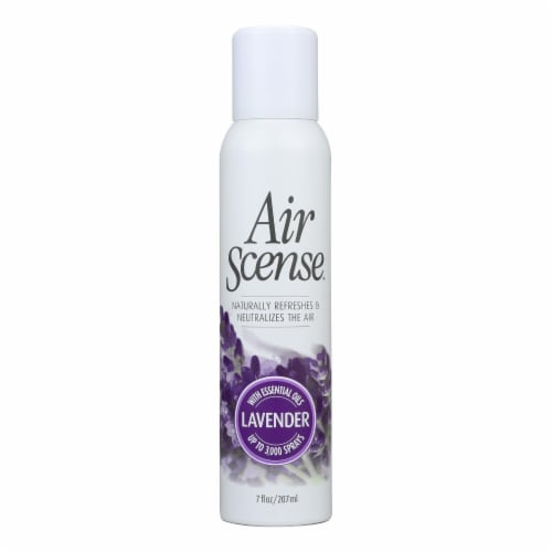 Air Scense - Air Freshener - Lavender - Case of 4 - 7 oz Perspective: front