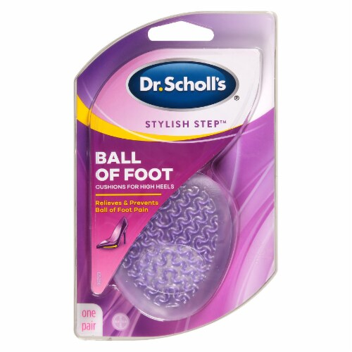 Dr. Scholl's Stylish Step High Heel Ball of Foot Cushions Perspective: front