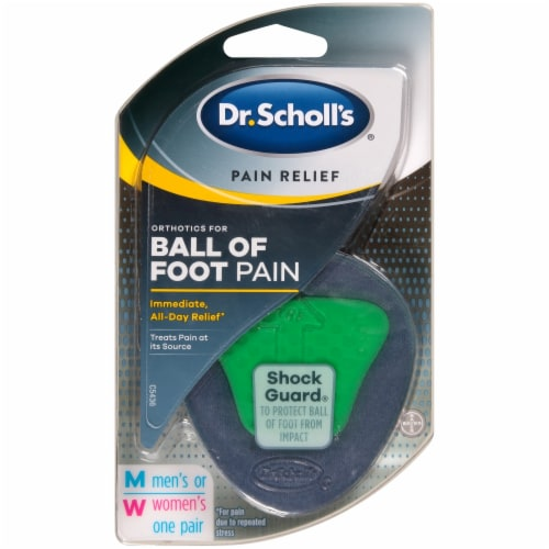 Dr. Scholl's Pain Relief Orthotics for Ball of Foot Pain Perspective: front