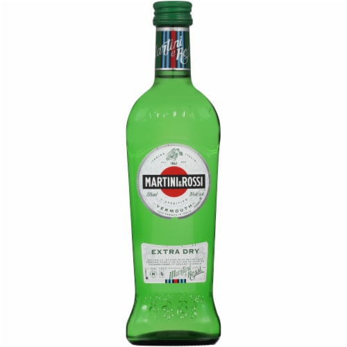 Martini & Rossi Extra Dry Vermouth Perspective: front