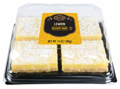 Private Selection® Lemon Dessert Bars Perspective: front