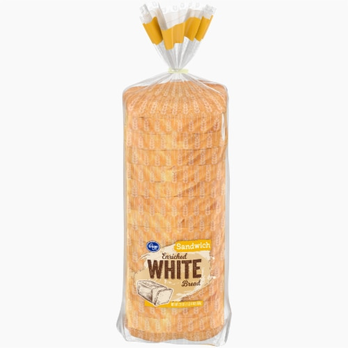 Kroger® Enriched White Sandwich Bread Perspective: front