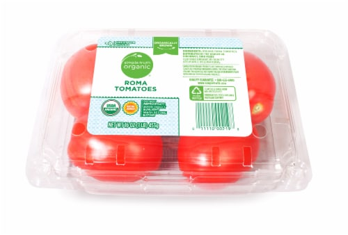 Simple Truth Organic™ Roma Tomatoes Perspective: front