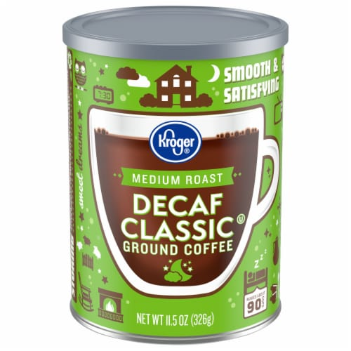 Kroger®  Decaf Classic Medium Roast Ground Coffee Perspective: front