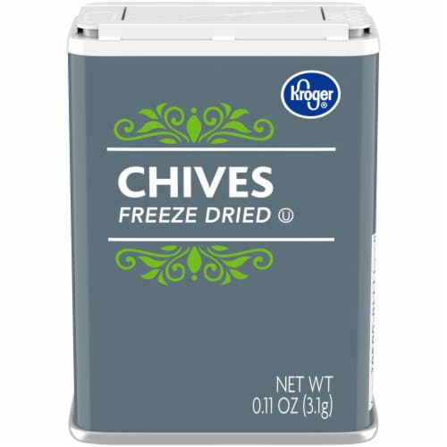 Kroger® Freeze Dried Chives Perspective: front