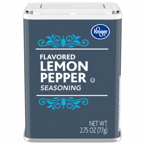Kroger®  Lemon Pepper Seasoning Perspective: front