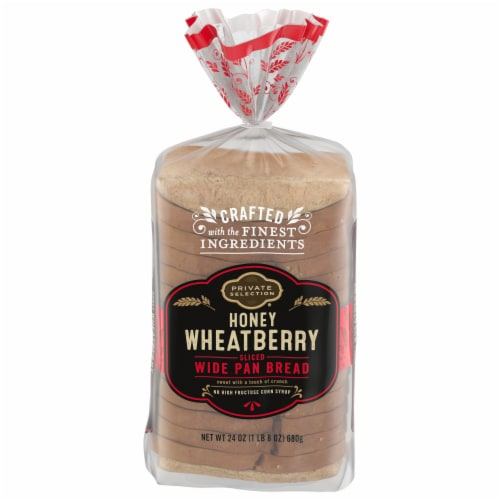 Private Selection® Honey Wheatberry Wide Pan Bread Perspective: front