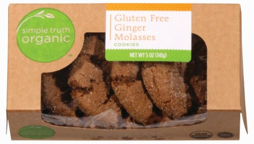 Simple Truth Organic™ Gluten Free Ginger Molasses Cookies Perspective: front