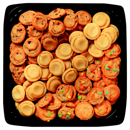 Bakery Fresh Goodness Variety Mini Cookies Tray Perspective: front