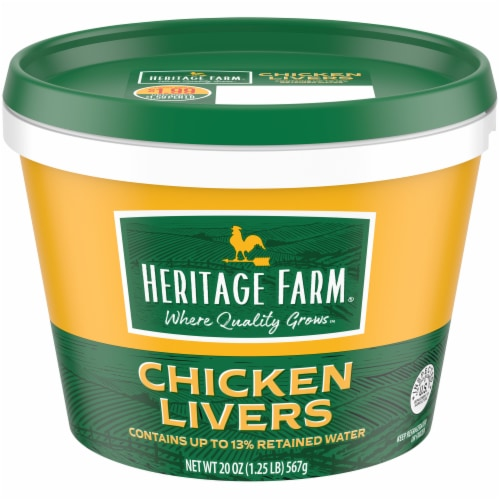 Heritage Farm® Chicken Livers Perspective: front