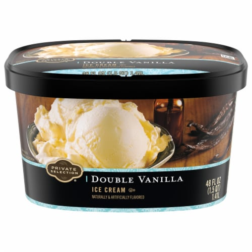 Private Selection™ Double Vanilla Ice Cream Perspective: front