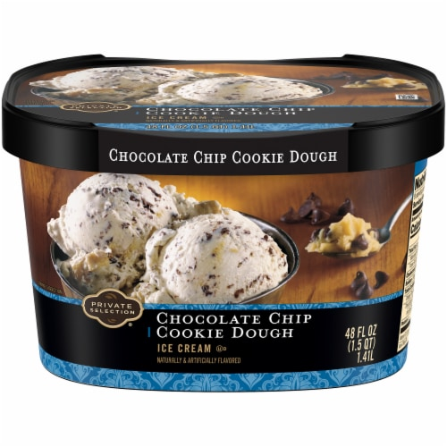Private Selection™ Chocolate Chip Cookie Dough Ice Cream Perspective: front