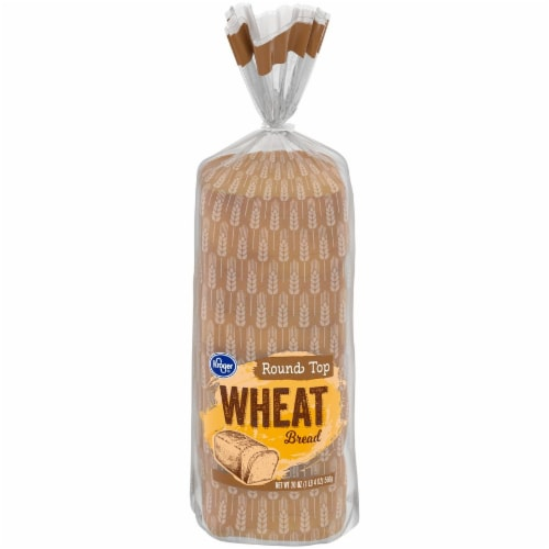 Kroger® Round Top Wheat Bread Perspective: front