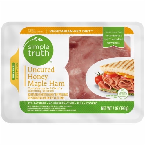 Simple Truth™ Uncured Honey Maple Ham Perspective: front