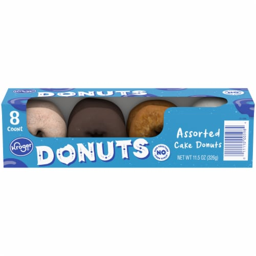 Kroger® Assorted Cake Donuts Perspective: front