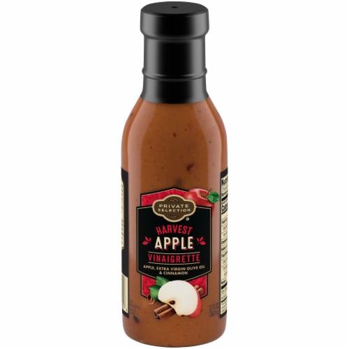Private Selection® Harvest Apple Vinaigrette Salad Dressing Perspective: front
