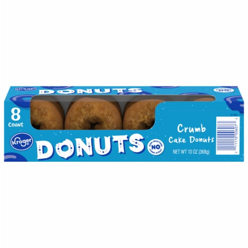 Kroger® Crumb Cake Donuts Perspective: front
