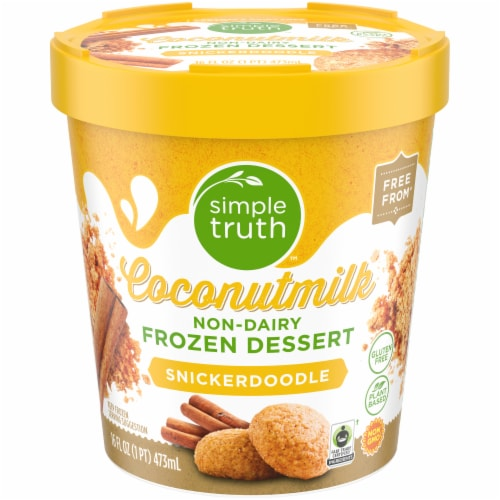 Simple Truth™ Coconut Milk Non-Dairy Frozen Dessert Perspective: front