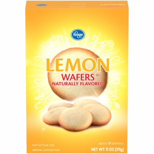 Kroger® Lemon Wafers Perspective: front