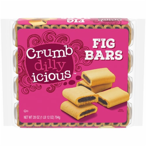 Crumbdillyicious™ Fig Bars Perspective: front