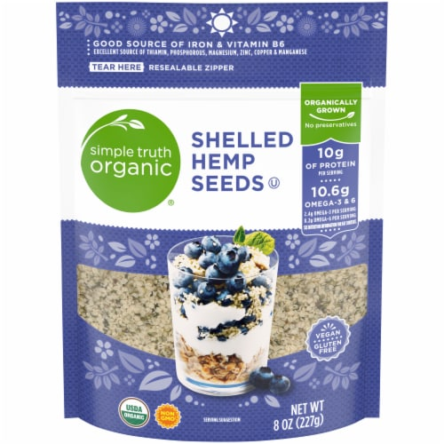 Simple Truth Organic® Shelled Hemp Seeds Perspective: front