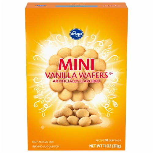 Kroger® Mini Vanilla Wafers Perspective: front