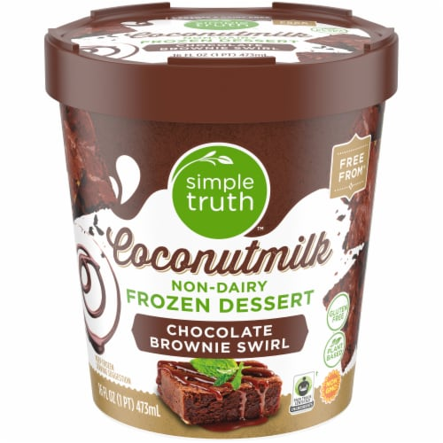 Simple Truth™ Coconut Milk Non-Dairy Frozen Dessert Perspective: front