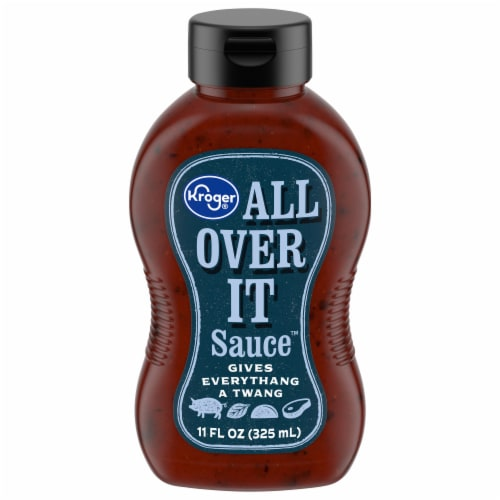 Kroger® All Over It Sauce™ Bottle Perspective: front