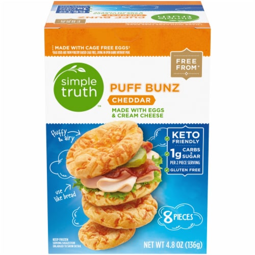 Simple Truth™ Cheddar Puff Bunz Perspective: front