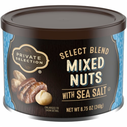 Private Selection™ Select Blend Mixed Nuts with Sea Salt Perspective: front
