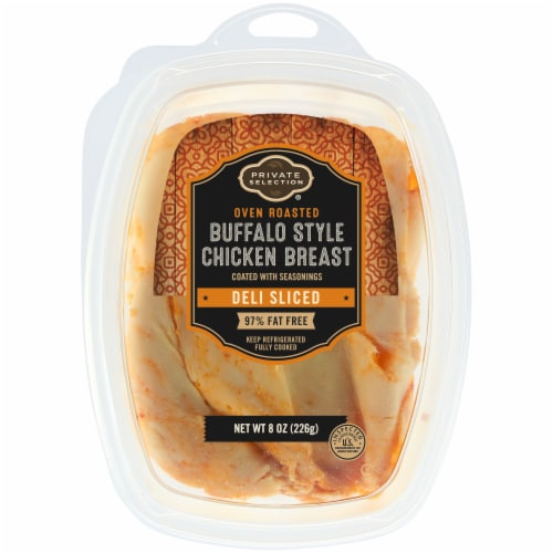 Private Selection® Buffalo Style Oven Roasted Chicken Breast Deli Sliced Perspective: front
