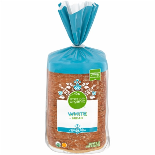 Simple Truth Organic® White Bread Perspective: front