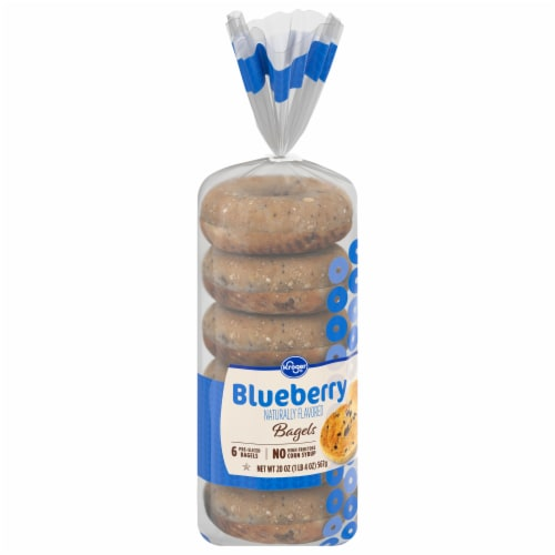 Kroger® Blueberry Bagels Perspective: front